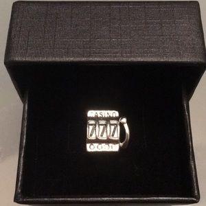 Jewelry - 925 Sterling casino charm (Pandora Compatiable)